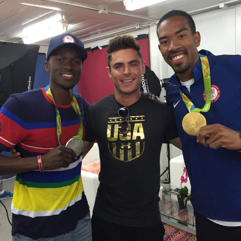 Post competition media campaign with Zac Efron